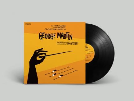Ontwerp LP en CD plaat rond George Martin